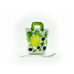 Veľká taška citrón olivy