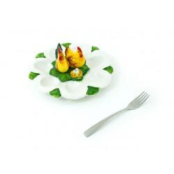 Tanier na vajíčka s 3D...
