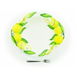 Hlboká misa 3D citrón