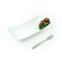 3D huby hranatý malý tanier