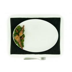 Veľký oválny tanier s bažantom