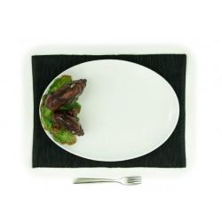 Veľký oválny tanier s divou...