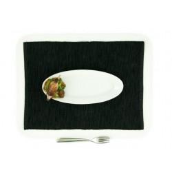 Malý oválny tanier so slukou