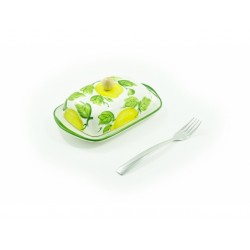 Dóza na maslo citrón