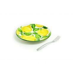 Plochý tanier citrón