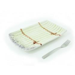 Špargľa hranatý tanier