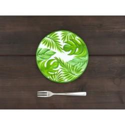 Plochý tanier džungľa