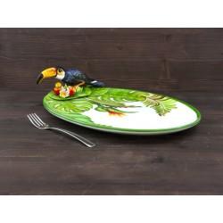 Veľký tanier s Tukanom