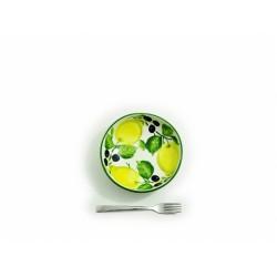 Hlboký tanier citrón olivy