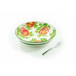 Hlboká miska paradajky
