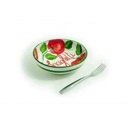 Hlboký tanier paradajky na...