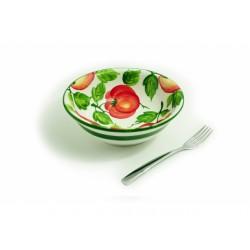 Malá hlboká miska paradajky