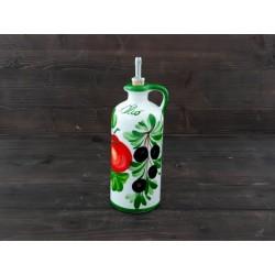 Fľaša paradajky olivy