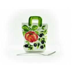 Veľká taška paradajka olivy
