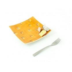 Malý 3D hranatý tanier
